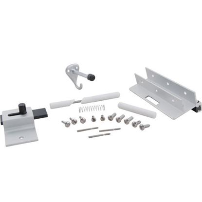 Picture of Latch Kit,Inswing(One Ear Door for Bradley/Mills Partition Div. Part# HDWP-ADIH