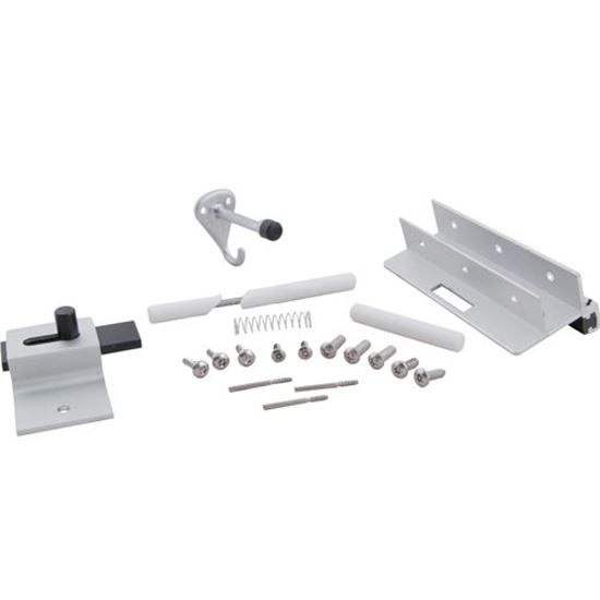 Picture of Latch Kit,Inswing(One Ear Door for Bradley/Mills Partition Div. Part# HDWP-AD31H