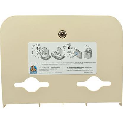 Picture of Liner,Lid (Cream, Kit W/ Key) for Koala Kare Products Part# 466-00KIT