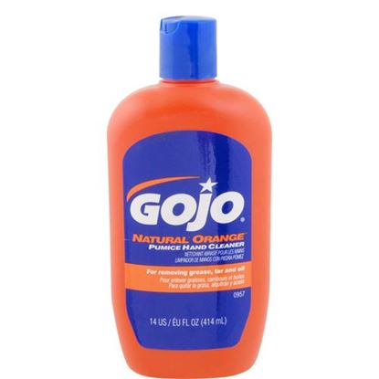 Picture of Cleaner,Hand (Orange, 14 Oz) for Gojo Industries Part# 957-08