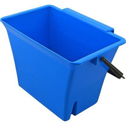 "Picture of Bucket (W/ Handle, 8""D, Blue) for Enterprise Manufacturing Inc Part# X0308"
