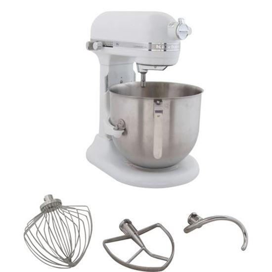 Mixer 8qt W Attachmts S S Bowl For Kitchenaid Part Kitksm8990wh Restaurant Equipment Parts Food Service Parts Partsfps