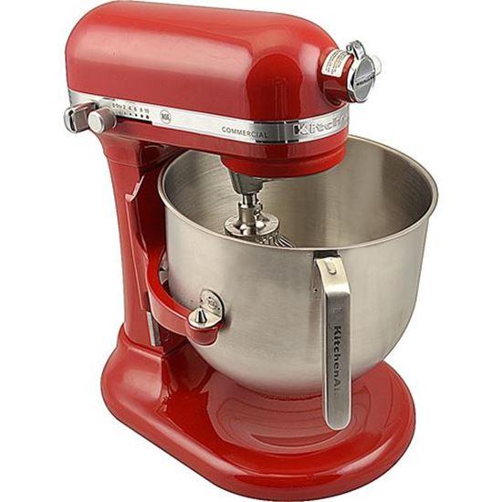 Mixer (8Qt, Red, Complete Unit for Kitchenaid Part# KSM8990ER
