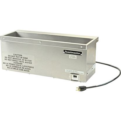 Picture of Warmer,Countertop (120V, 540W) for Toastmaster Part# TOA7S-1529-120
