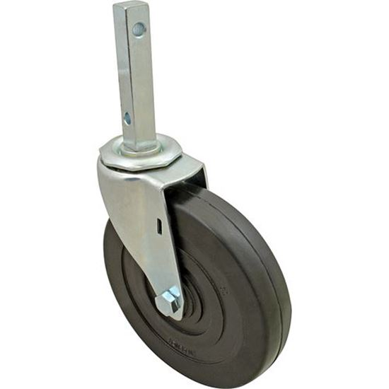 """Picture of Caster,Square Stem (5""""Od,Swvl) for Lakeside Part# 9138"""