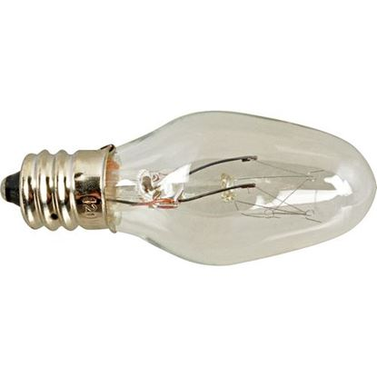 Picture of Bulb (Candelabra, 130V, 10W) for A.J. Antunes (Roundup) Part# ROUS3903