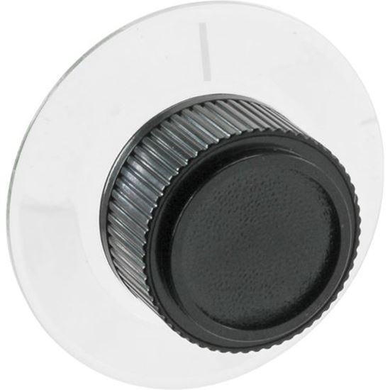 Picture of Knob,Thermostat (Flat Left) for Nu-Vu Part# NUV253-2003 (NU-VU)