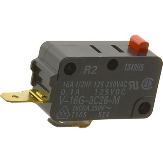 Picture of Microswitch (250 Vac) for Salem Supply Part# A6142-1450