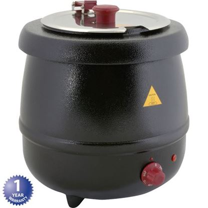 Picture of Kettle,Soup(10.5 Qt,Blk, 800W) for Tomlinson Part# 1024107