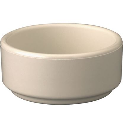 Picture of Ramekin,Contemp (2Oz,Bone)(12) for Gessner Products Company Inc Part# 372BN