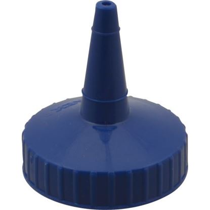 Picture of Cap,Squeeze Bottle (Blue) for Traex Div Of Menasha Corp Part# BKSW2818