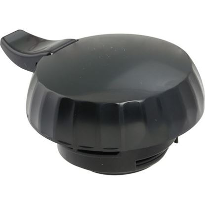 Picture of Lid,Eco-Serv (Black) for Service Ideas Part# SIDECLBL