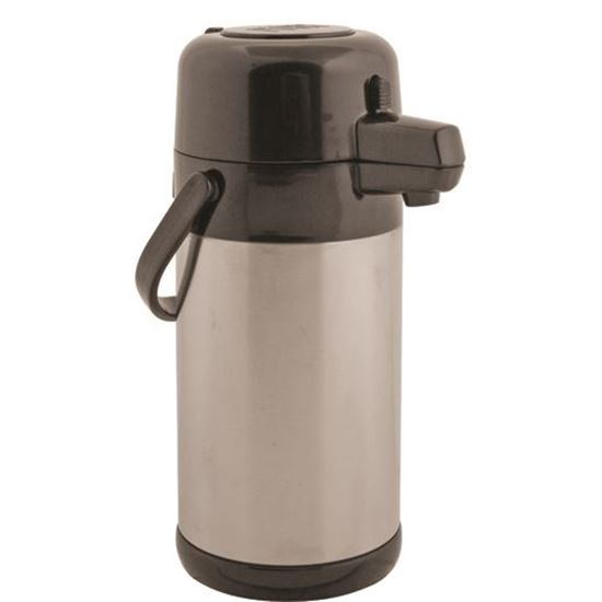 Picture of Airpot (74 Oz, S/S, Push Pump) for Service Ideas Part# SIDSECA22S