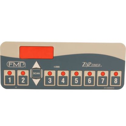 Picture of Overlay,Timer (8 Product) for (Fast.) Part# FAS214-30000R21