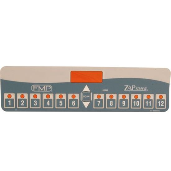 Picture of Overlay,Timer (12 Product) for (Fast.) Part# FAS214-30000R22