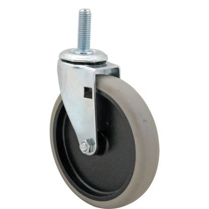 "Picture of Caster,Stem (5""Od,1/2-13,Gray) for Darling International Corp Part# 700003"