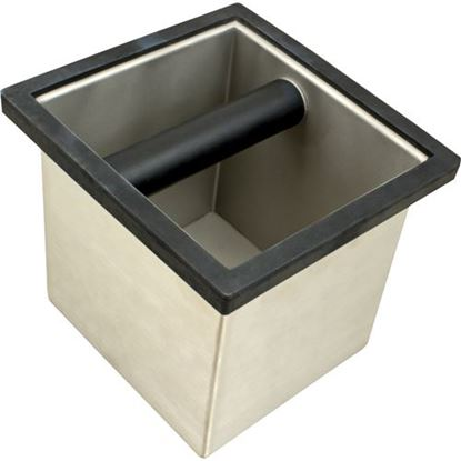 Picture of Box,Knock (S/S) for General Espresso Equipment Part# GNXES25120