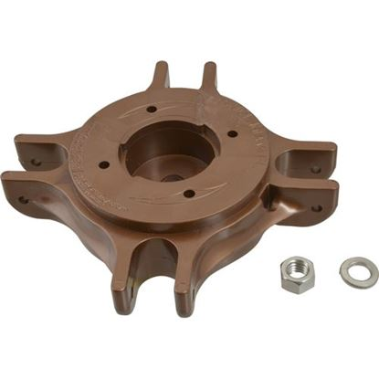 Picture of Hub,Top (Copper Polymer) for Tuuci Part# TUUCK100501-4-COP-1M