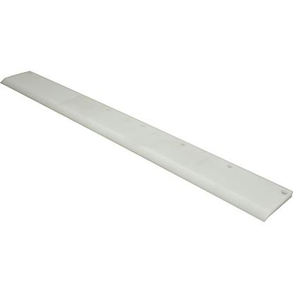 Picture of Scraper (#2, White Poly) for Somerset Part# 0500-511
