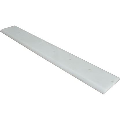Picture of Scraper (#3, White Poly) for Somerset Part# SOM0500-512