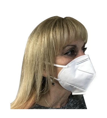 Picture of KN95 Respirator Masks (Non-valve) - 5pcs per Pack
