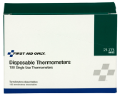 Picture of Disposable Thermometers - Box of 100