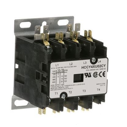 Picture of Contactor4P 30/40A 208/240V for Jackson/Dalton Dishwasher Part# 05945-004-43-74