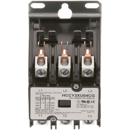 Picture of Contactor3P 40/50A 208/240V for Winston Part# PS1007