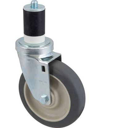 "Picture of Caster,Stem(5""Od, Swvl, Gray) for Ayrking Part# B242"